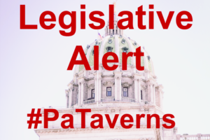 STATEMENT: Pennsylvania Taverns applaud State House today for passing bills to support industry recovery