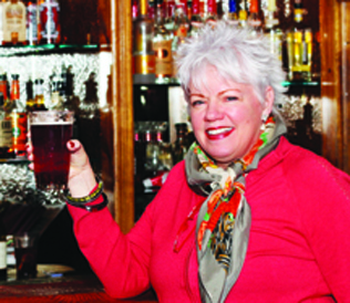 Jan Hench, owner and operator of McCoole's at the Historic Red Lion Inn in Quakertown, Pennsylvania.