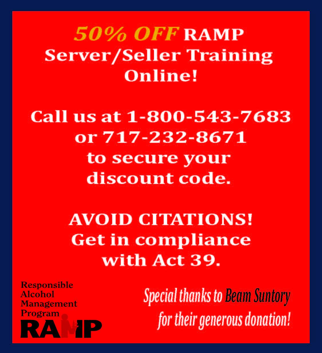 Ramp Courses Pa Taverns
